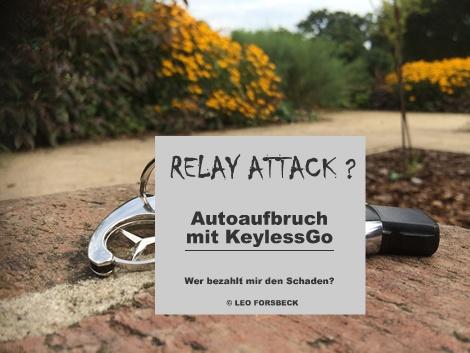 Diebe nutzen Relay Attack für Autoaufbruch